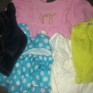 Bundle of super cute 3-6 m Juicy Couture included